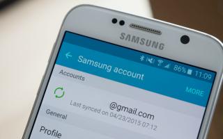 Samsung account забыл пароль. Как создать учетную запись Samsung и зачем это нужно