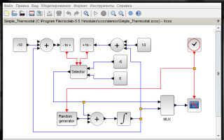 Моделирование систем в программной среде Scilab & Xcos 5.5.1