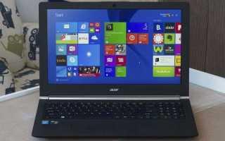 Как восстановить ноутбук Acer до заводских настроек