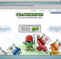 Тест производительности браузеров