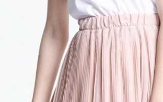 Как восстановить плиссировку на платье