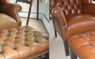 Как восстановить кожаный диван дома – ремонт кожаной мебели своими руками