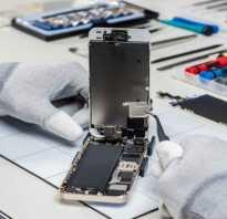 Продавливается экран iphone 5s