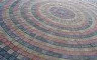 Как восстановить цвет тротуарной плитки
